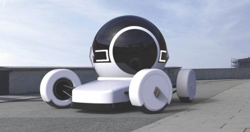 Paris Floats the Electric Bubble Car