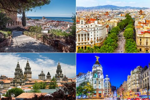 Top 4 Places To Visit In Spain, And Why You Should Start Planning A Trip!