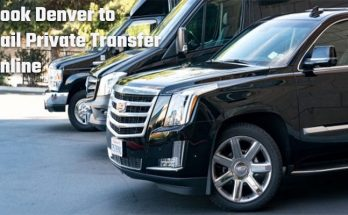 Book Denver to Vail private transfer online
